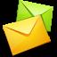صمم هويتك التجارية... واحصل علي هذه المميزات الان ! E-mail1-64x64
