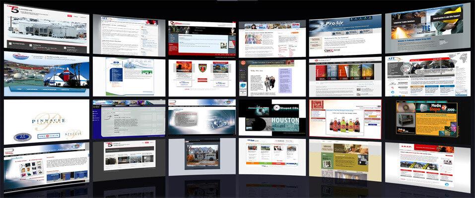 افضل شركة تصميم مواقع في السعودية Websites1