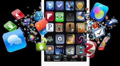 تصميم تطبيقات الهاتف لشركتك